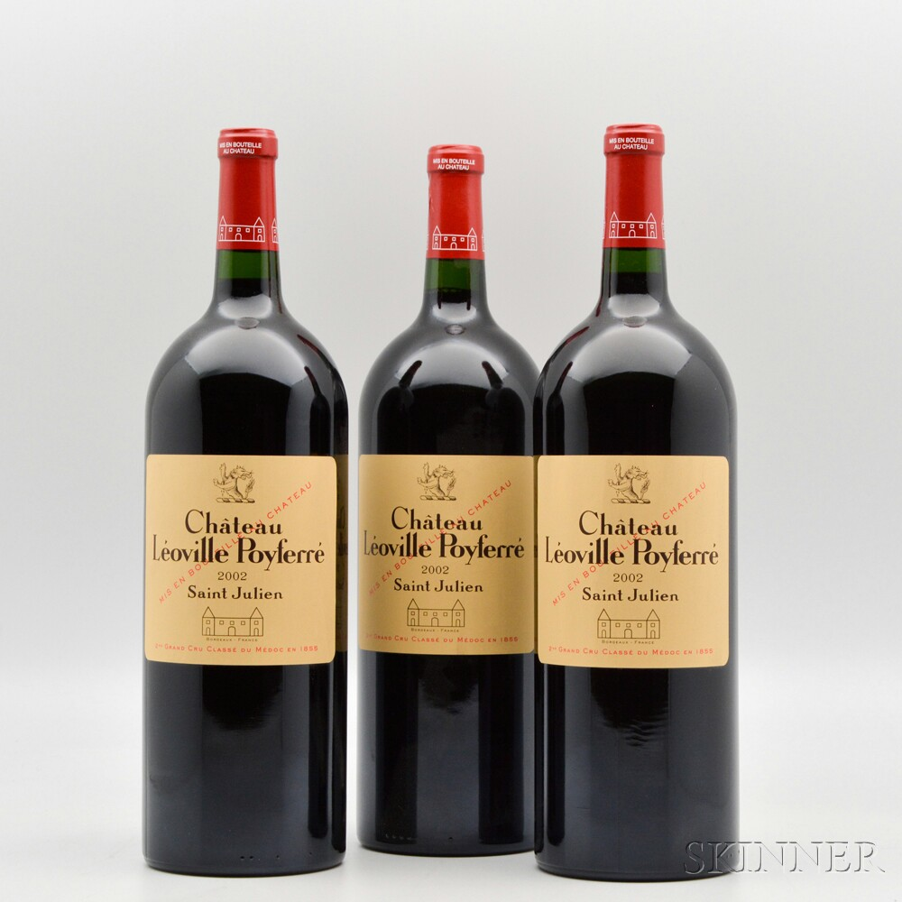 Chateau Leoville Poyferre 2002, 3 magnums