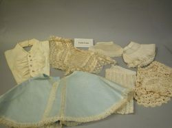 Group of Collars, Lace Items and Fragments.