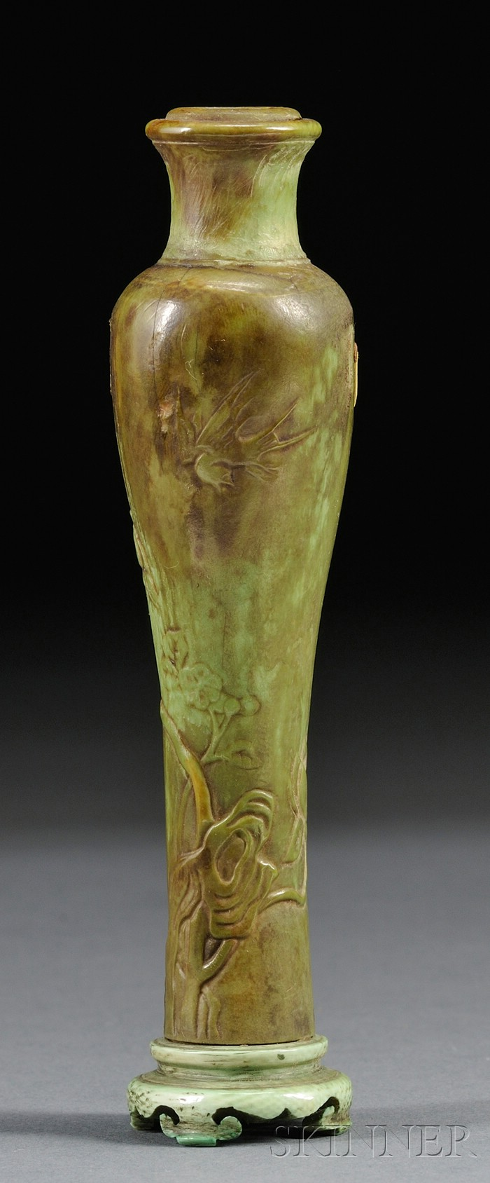 Ivory Incense Vase