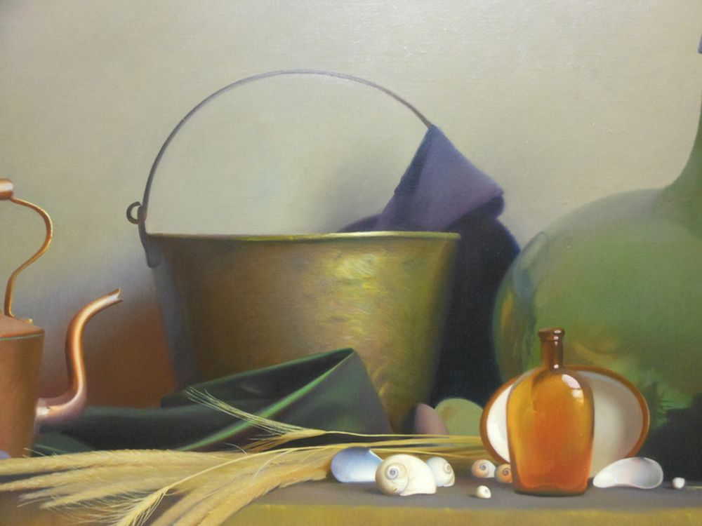 Robert Douglas Hunter (American, 1928-2014)      Still Life with Shells