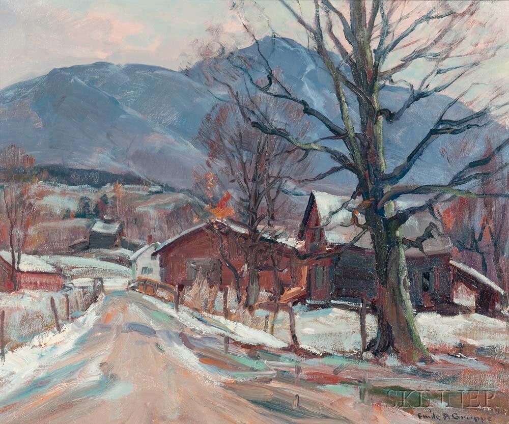 Emile Albert Gruppé (American, 1896-1978)      After the Rain