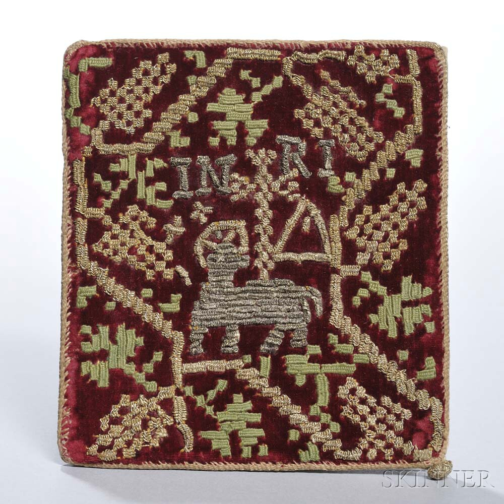 Baroque Embroidered Chalice Cover