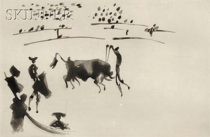 Pablo Picasso (Spanish, 1881-1973)      Clavando un par de banderillas