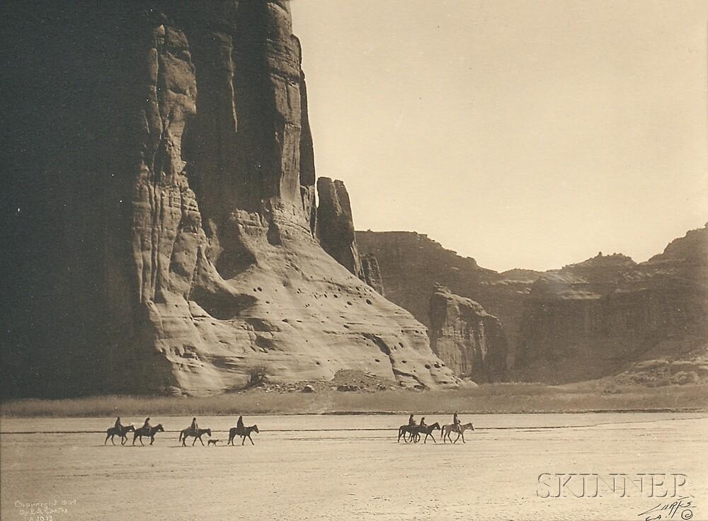 Edward Sheriff Curtis (American, 1868-1952)      Canyon de Chelly