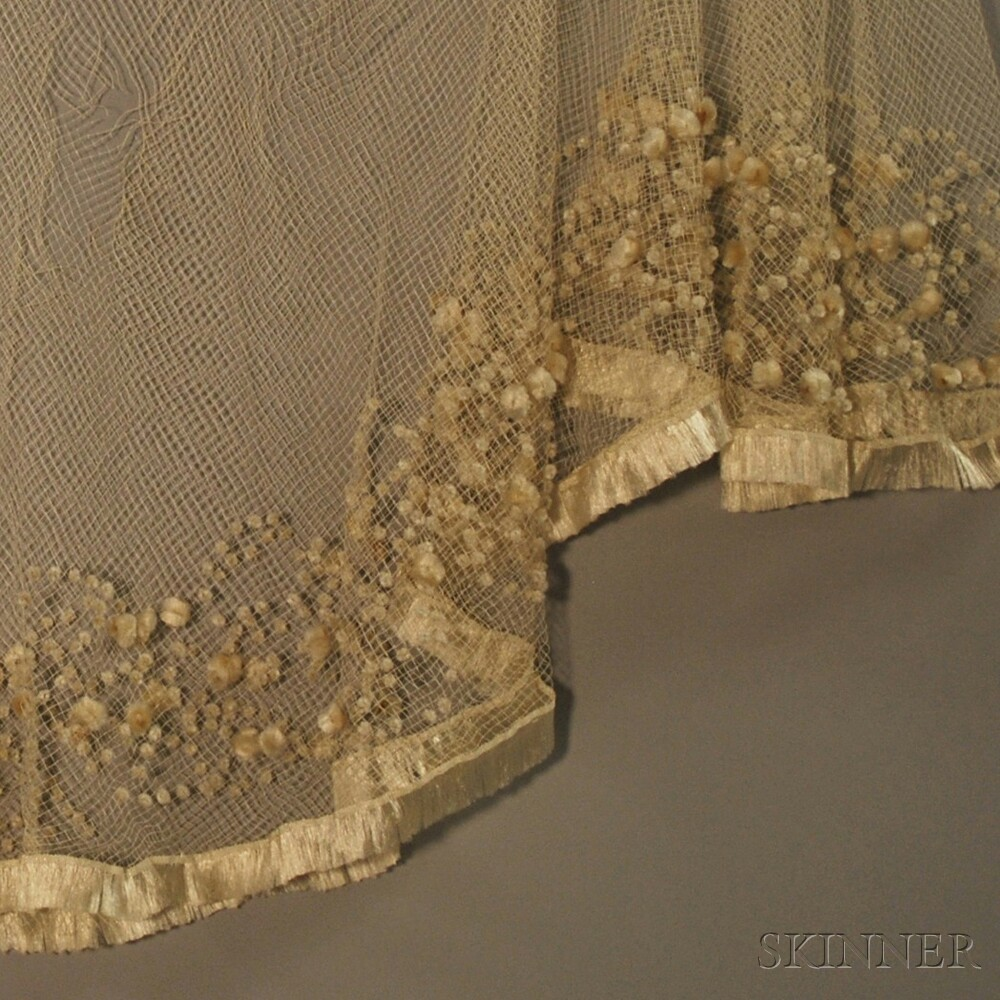 Six Assorted Cream-colored Textiles