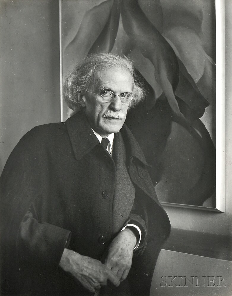 Imogen Cunningham (American, 1883-1976)      Alfred Stieglitz