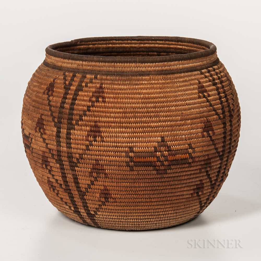 Polychrome California Basket