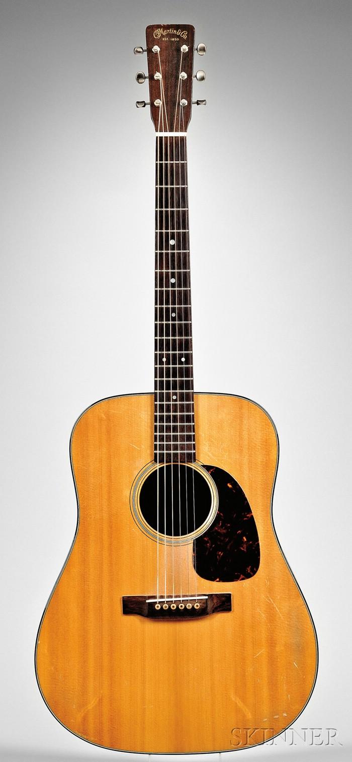 American Guitar, C.F. Martin & Company, Nazareth, 1959, Style D-18