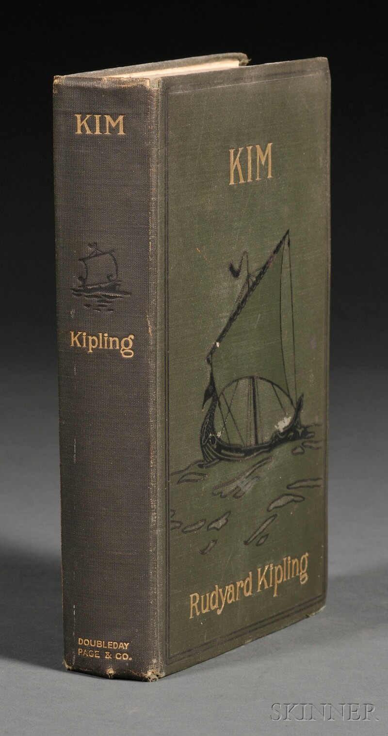 Kipling, Rudyard (1865-1936)   Kim
