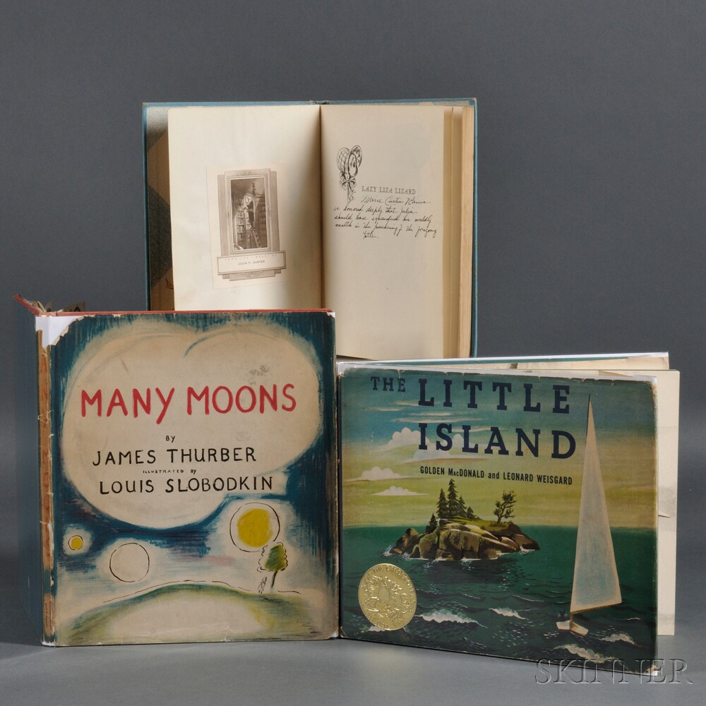 Children's Books, Three, Signed and Inscribed.Children's Books, Three...