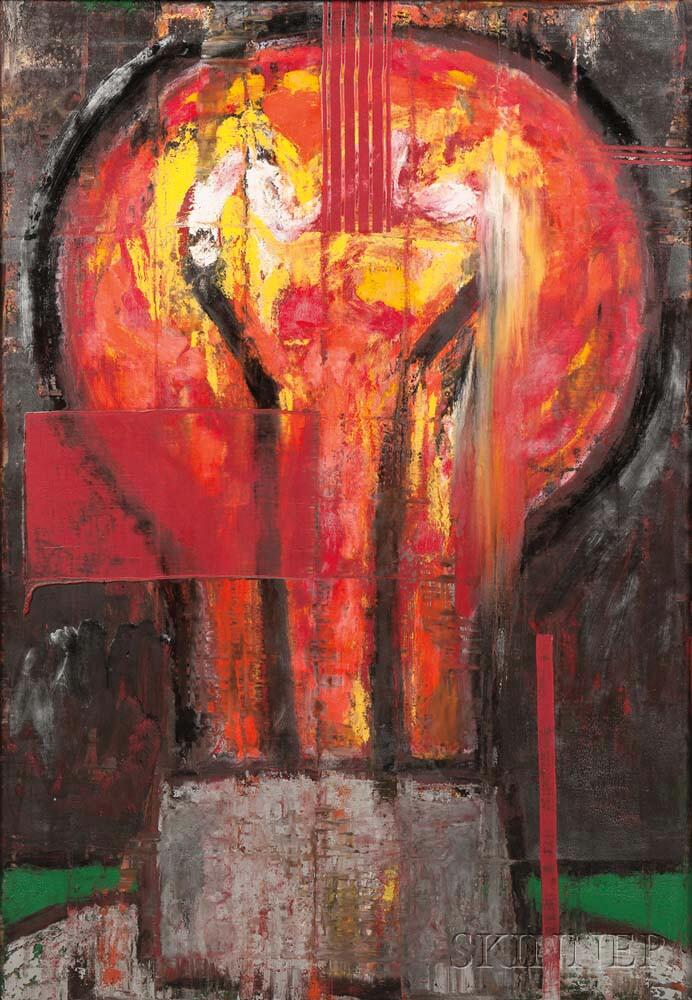Aaron Fink (American, b. 1955)      Red Light