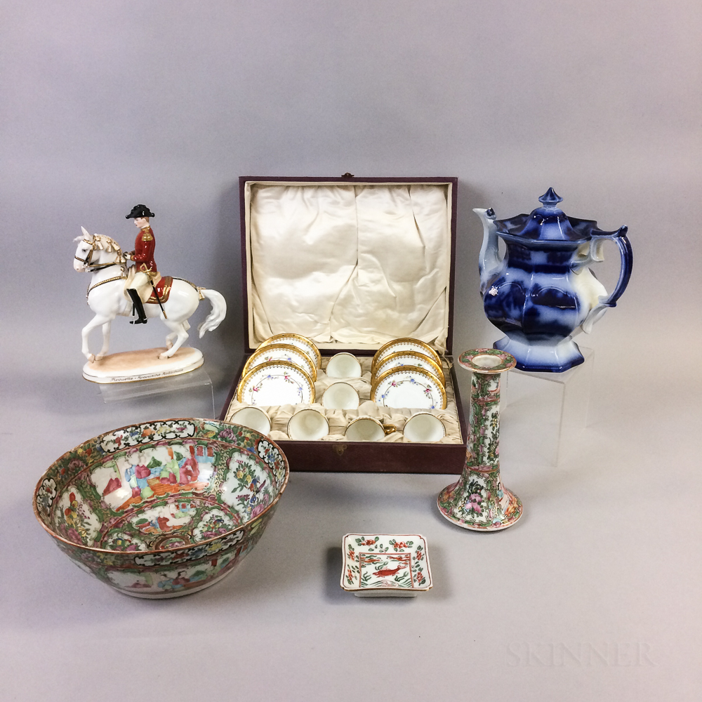 Group of Porcelain Items