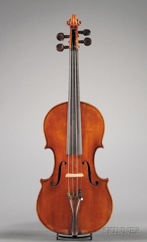 Modern Italian Violin, Workshop of Giacomo and Leandro Bisiach, Milan