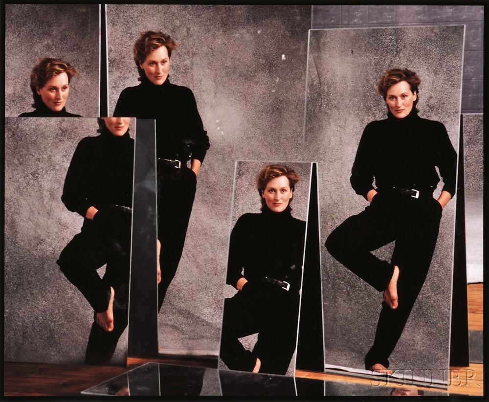 Annie Leibovitz (American, b. 1949)      Meryl Streep, New York