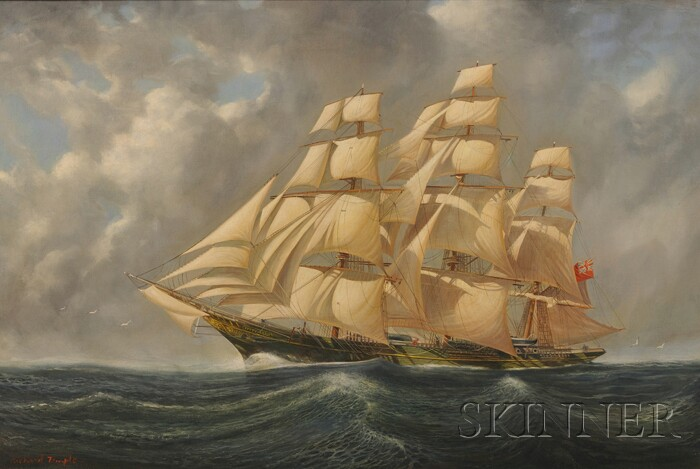 Richard Temple  (British, 20th Century)      The Cutty Sark