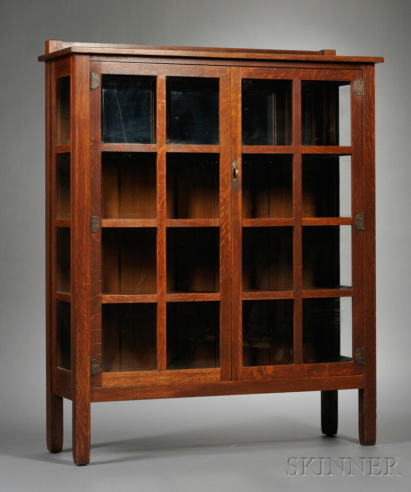 Arts & Crafts Stickley Brothers China Closet