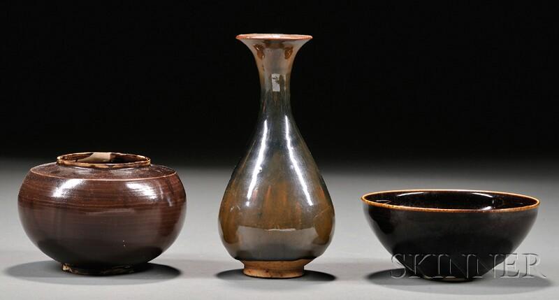 Three Stoneware Pieces