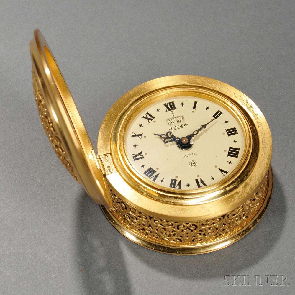 """Jaeger """"Recital"""" No. 106 Alarm Clock"""