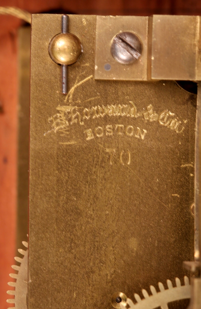 E. Howard Cherry No. 70 Wall Regulator
