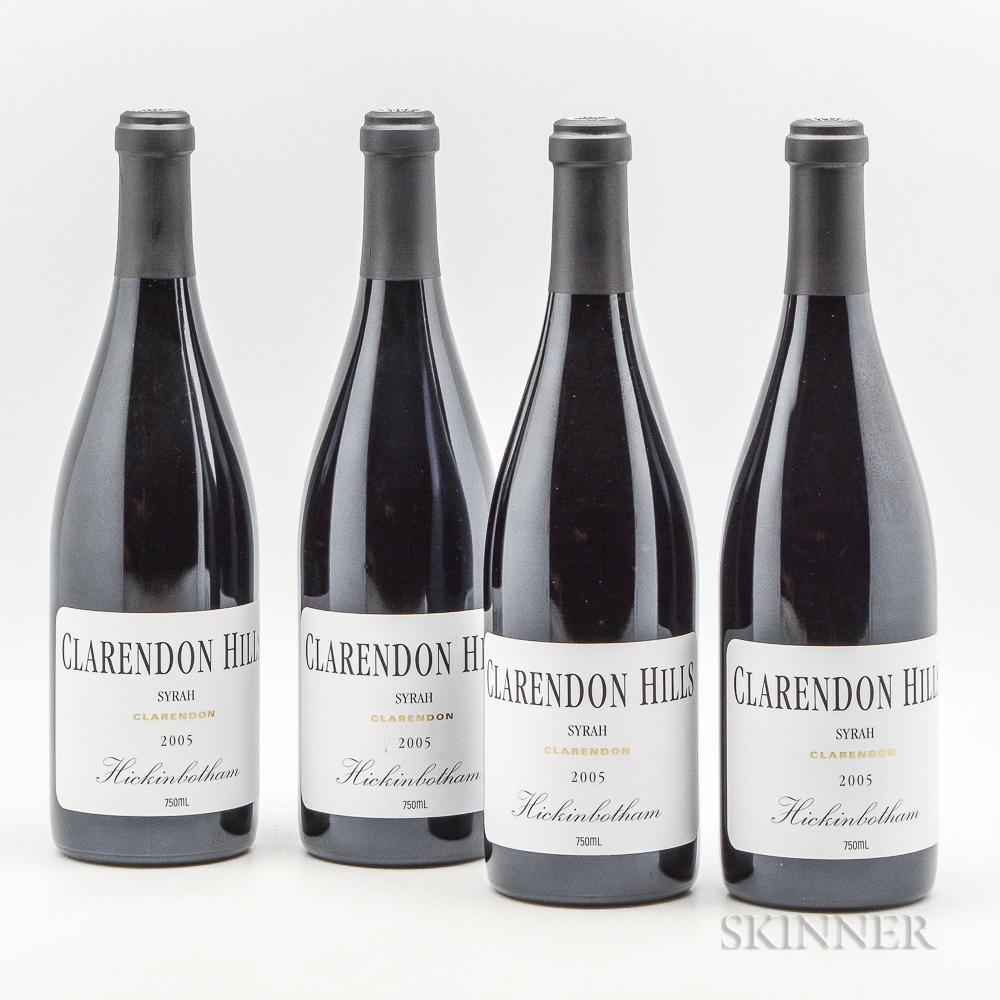 Clarendon Hills Hickinbotham Syrah 2005, 4 bottles