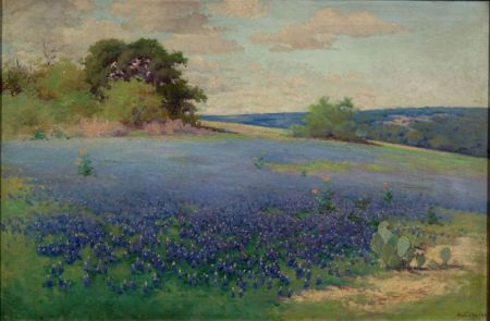 Alice Chilton (American, 19th/20th Century)    Texas Bluebonnets