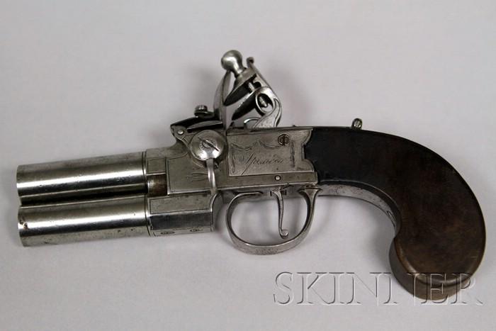 """""""Over & Under"""" Flintlock Pistol"""