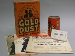 Collection of African-American Ephemera Items.