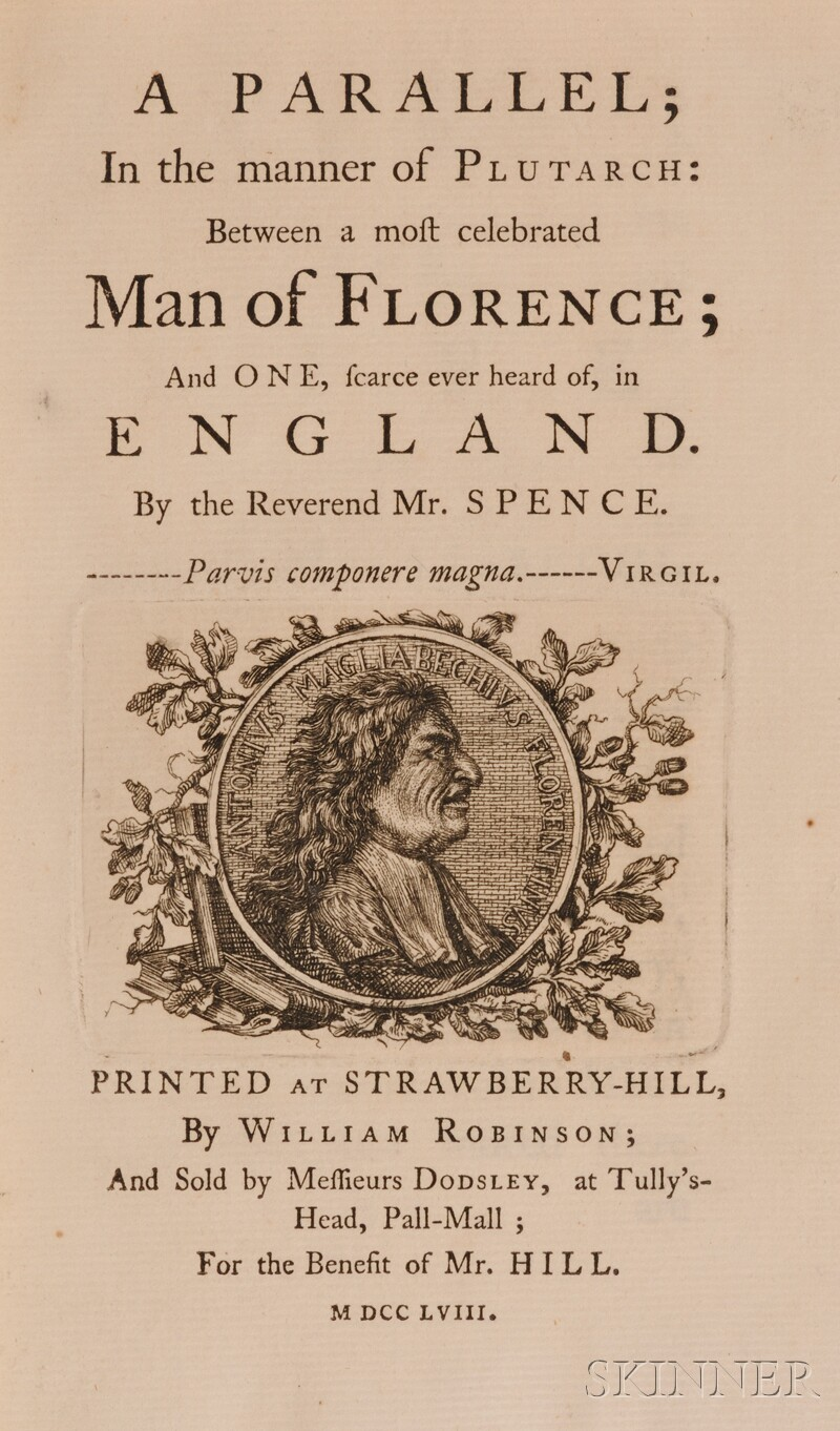 Spence, Joseph (1699-1768)