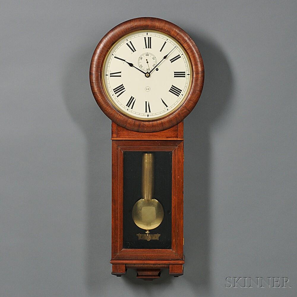 Mahogany Seth Thomas No. 2 Wall Clock