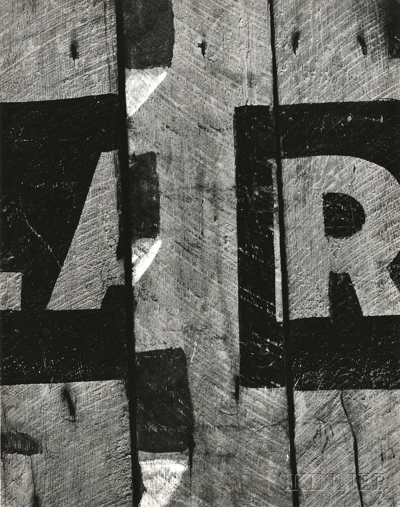 Aaron Siskind (American, 1903-1991)      Harlan, Kentucky