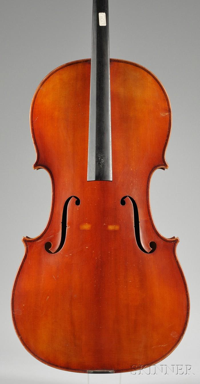 Modern Violoncello, Wenzel Fuchs, Eltersdorf, 1967