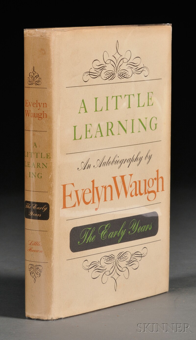 Waugh, Evelyn (1903-1966), Signed Copy