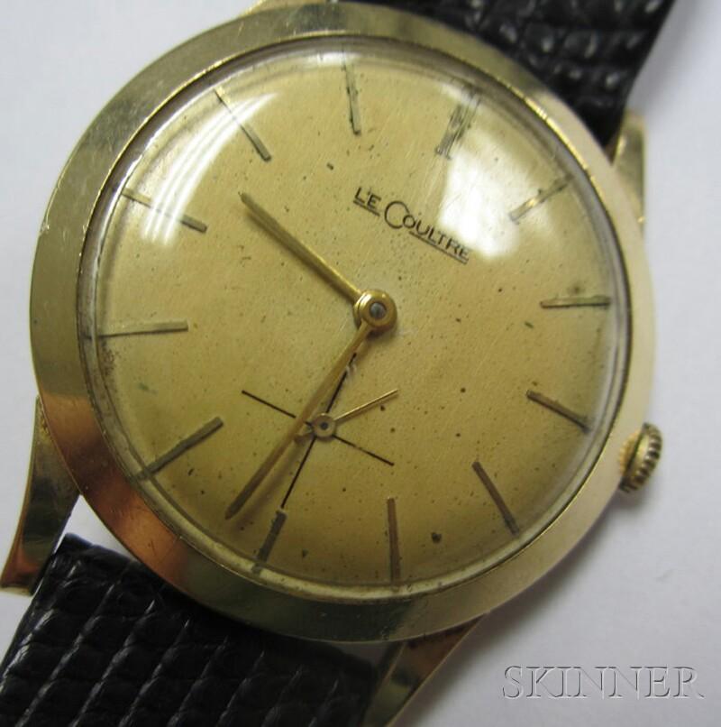 Vintage 14kt Gold Jaeger LeCoultre Wristwatch