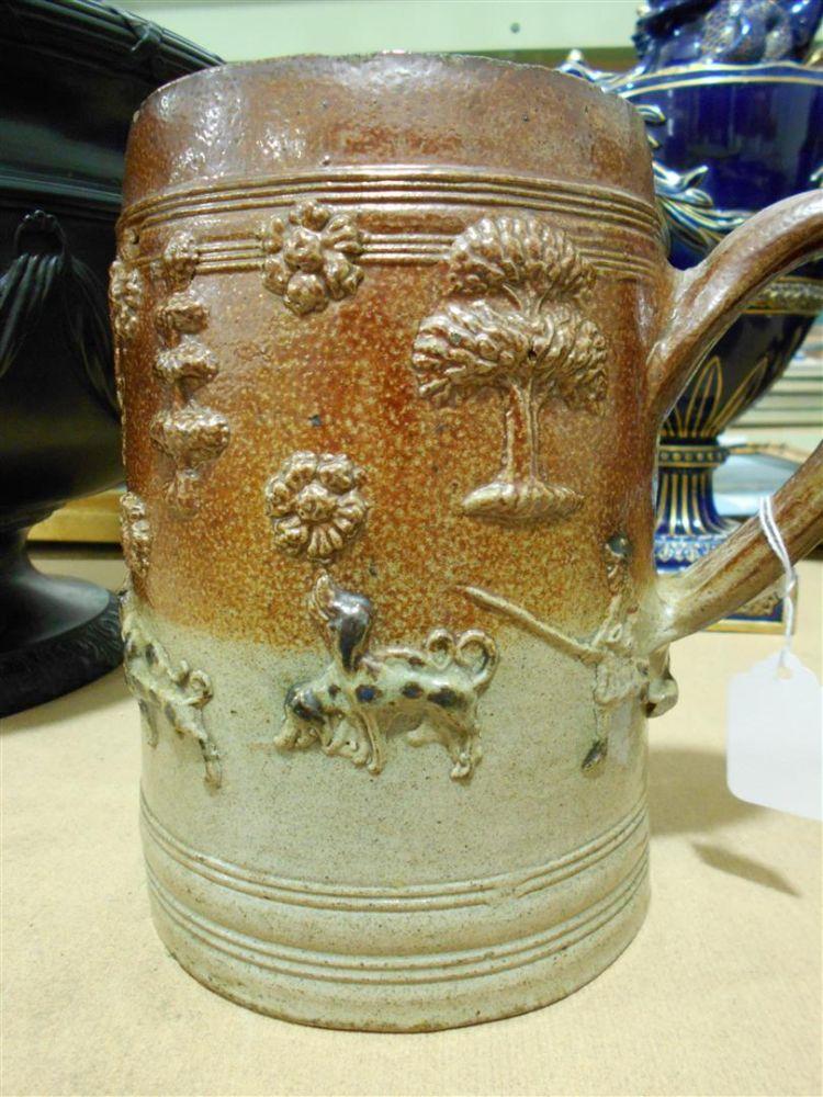 Salt-glazed Stoneware Tankard