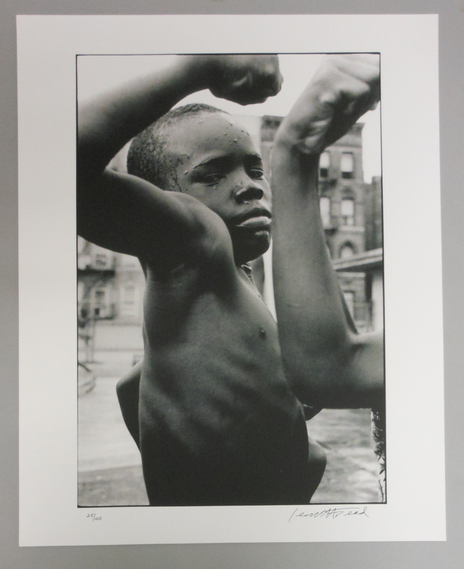 Leonard Freed (American, 1929-2006)      Muscle Boy, Harlem