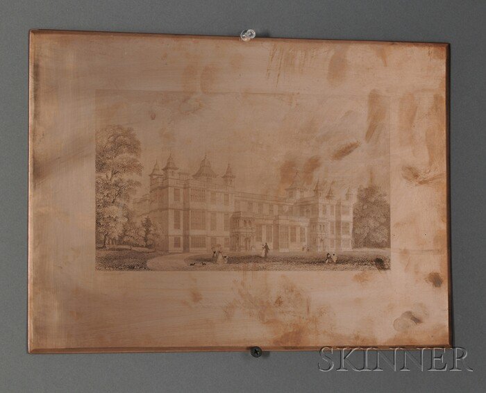 Two English Copper Engraving Plates