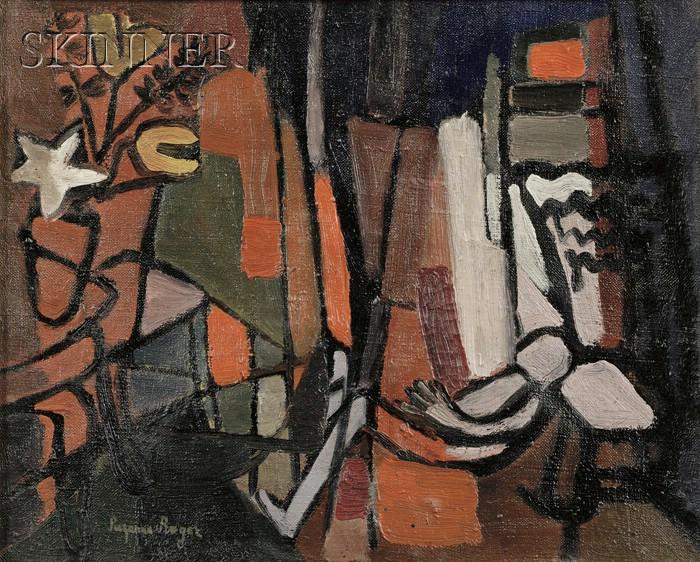 Suzanne Roger (French, 1899-1986)      La salle à manger