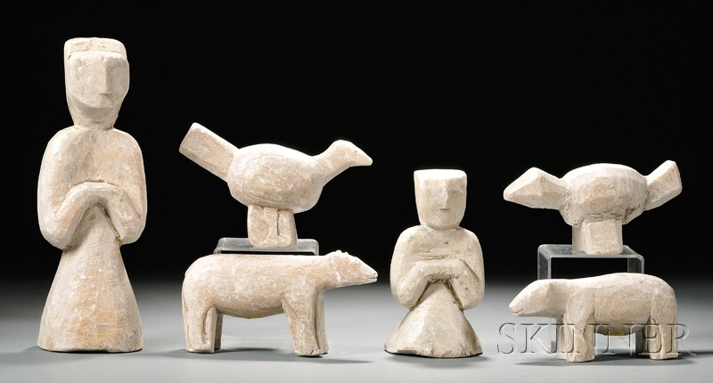 Six Steatite Figures