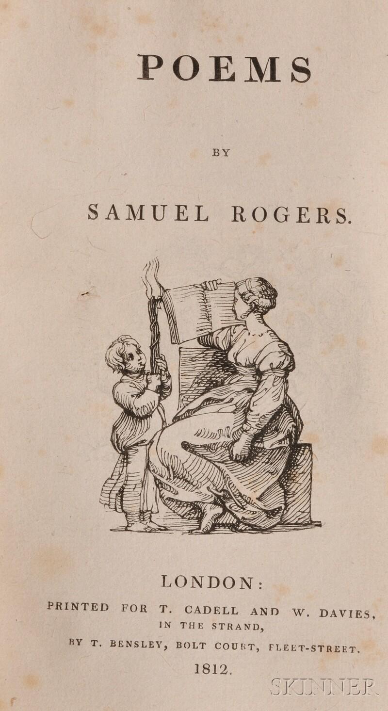 Rogers, Samuel (1763-1855), Presentation Copy