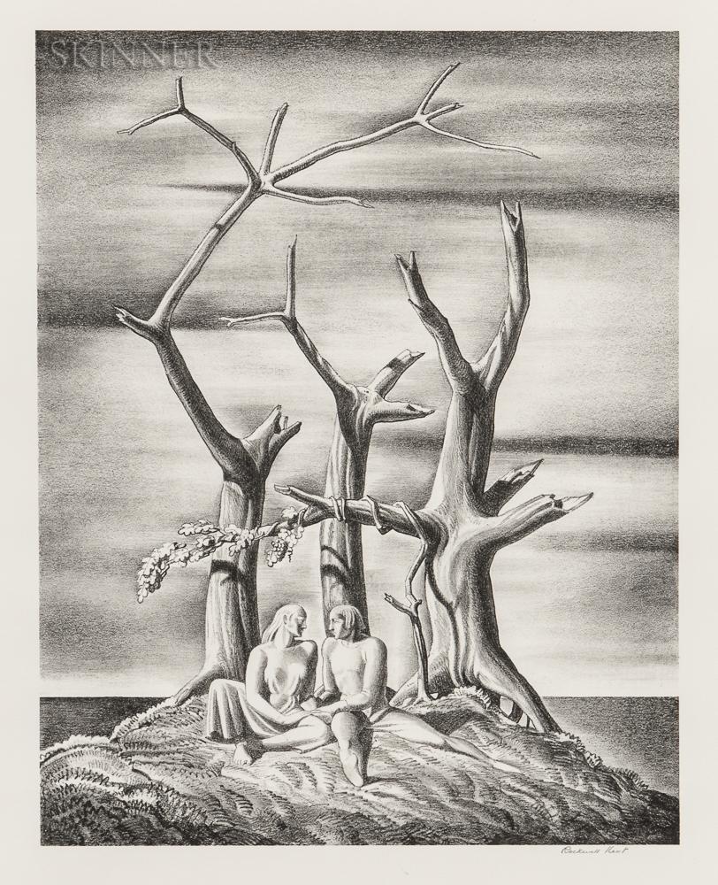 Rockwell Kent (American, 1882-1971)      Beowulf: Genealogical Tree