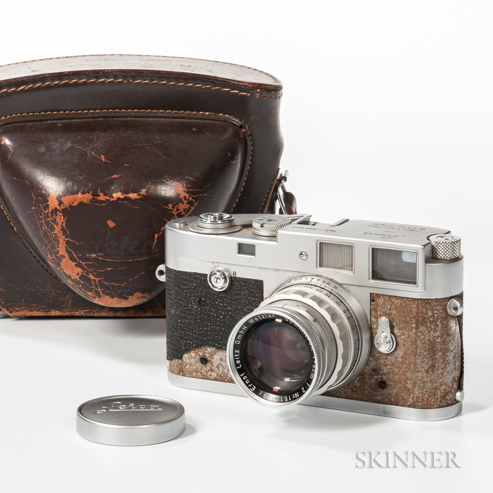 Leica M2 35mm Camera and Summicron Lens