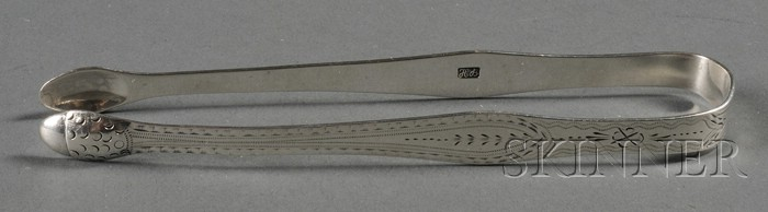 Pair of George III Silver Sugar Tongs