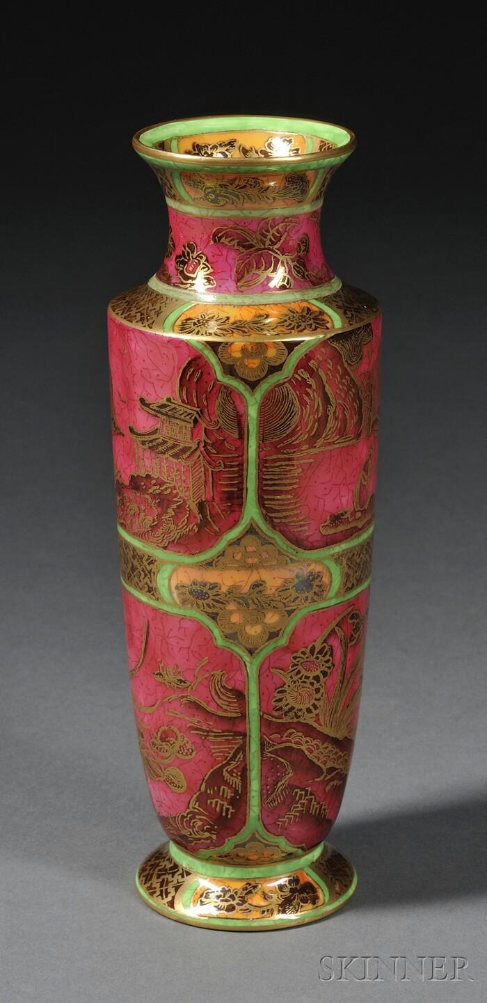 Wedgwood Fairyland Lustre Daventry   Vase
