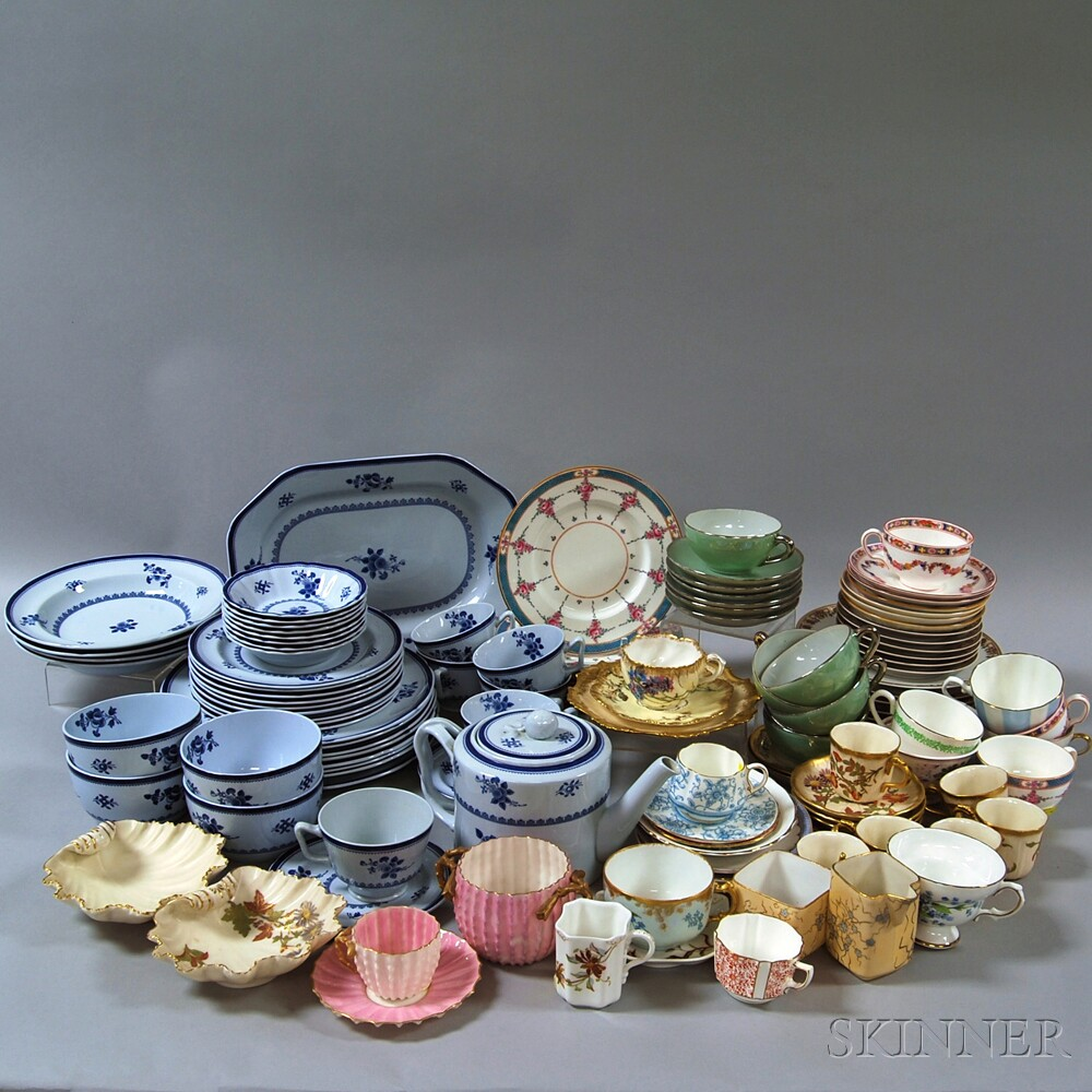 Large Group of Miscellaneous Porcelain and Ironstone