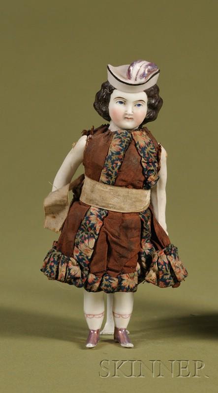 Parian Squeak Toy Child