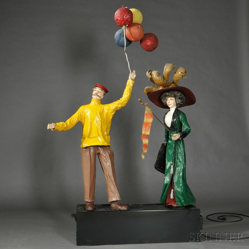 Storefront Figural Automaton