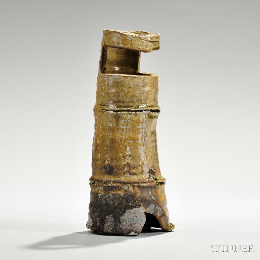 Ichiro Hori (b. 1952) Stoneware Vase