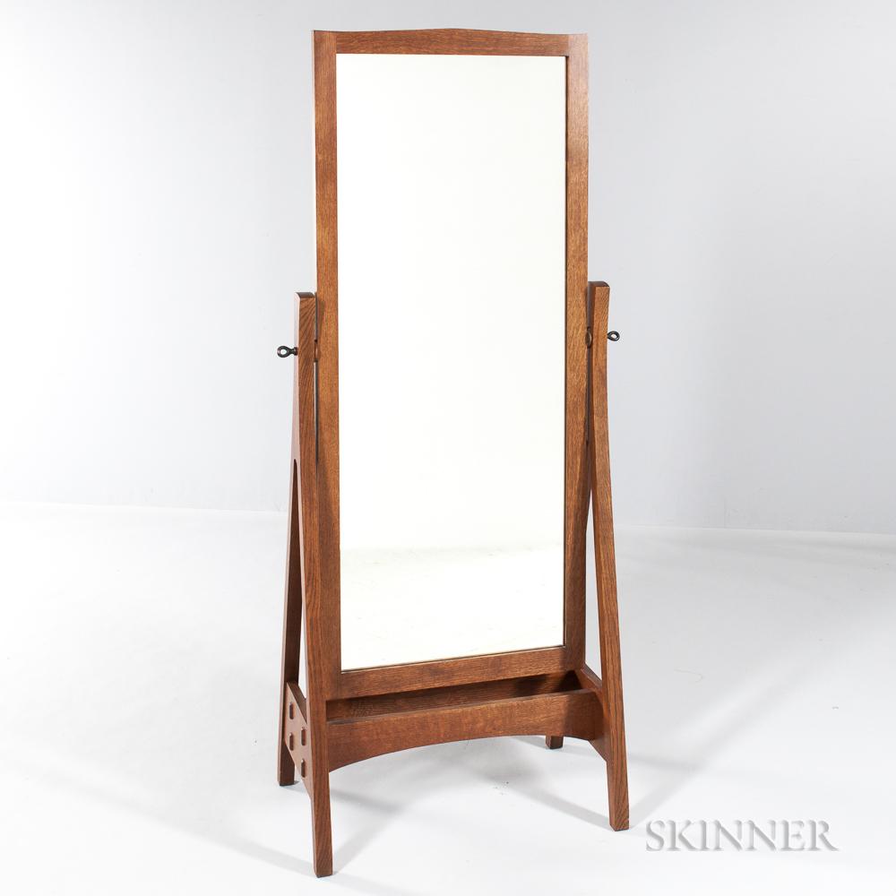Contemporary Stickley Cheval Mirror