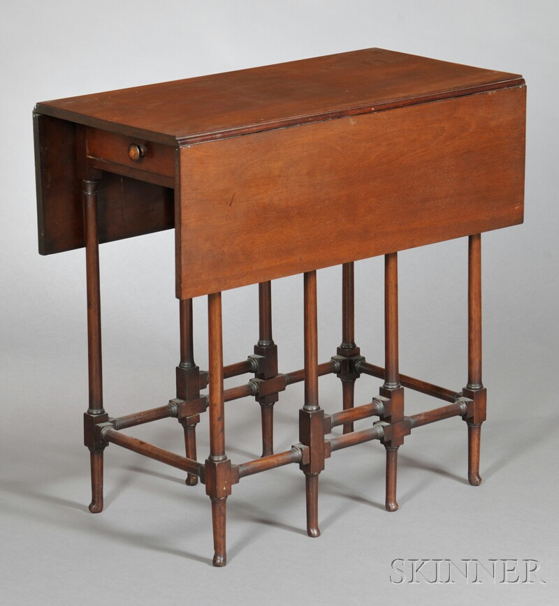 English Mahogany Gate-leg Table