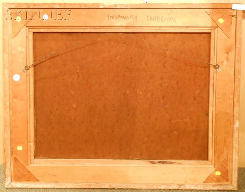 Leonardo M. Nierman (Mexican, b. 1932)      Imaginary Landscape
